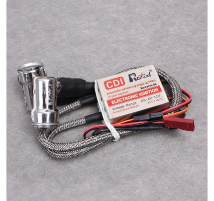 Rcexl Twin Ignitions for NGK -BMR6A-14MM 90 Degree RC Gas Engines