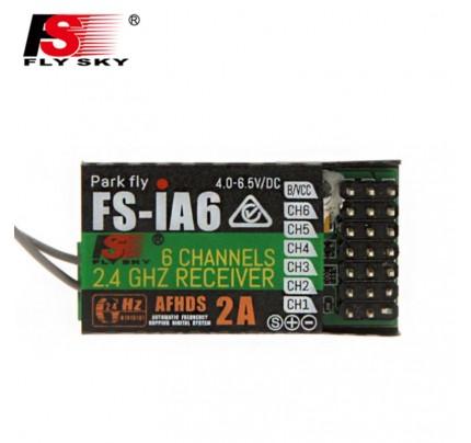 FlySky FS-iA6 iA6 2.4G 6CH AFHDS Receiver For FS-i10 FS-i6 FS i6 Transmitter