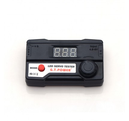 G.T POWER LED digital tube servo tester