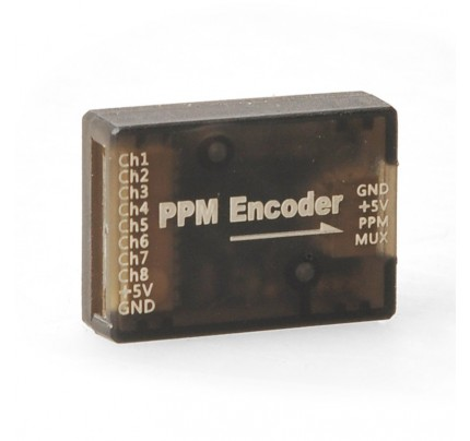PWM to PPM Encoder for Mini Pixracer Pixhawk MWC PX4 APM Flight Controller PWM Receiver DIY FPV Drone RC Copter Parts
