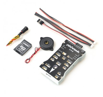 Pixhawk PX4 Autopilot PIX 2.4.8 Flight Controller 32 Bit ARM PX4FMU PX4IO Combo With Safety Switch and Buzzer For RC Model