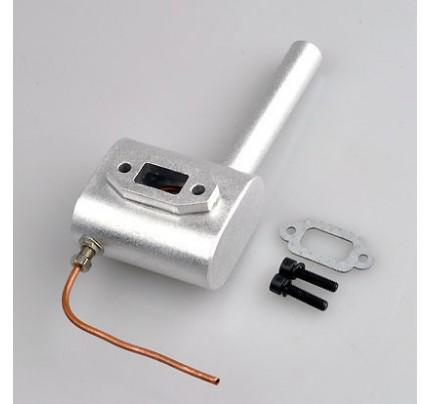 Smoking Exhaust Muffler for DLE30, GF26i V2 26cc-30cc Gas Engine
