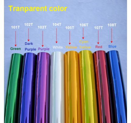 5Meters/Lot Tranparent Colors Hot Shrink Covering Film For RC Airplane Models DIY High Quality
