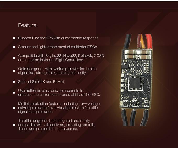 EMAX Nano Series 12A ESC