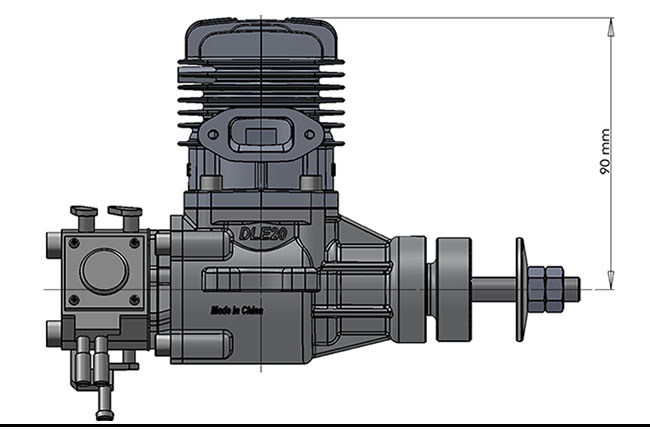 DLE20 Gas Engines