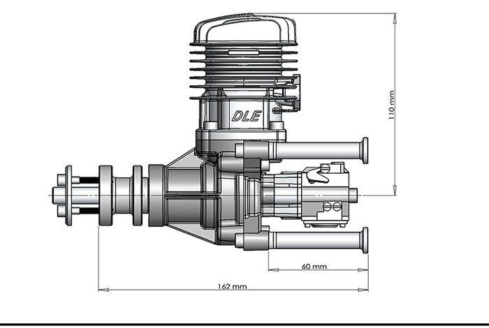 DLE35RA Gas Engines