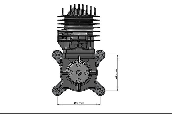 dle55 gas engines