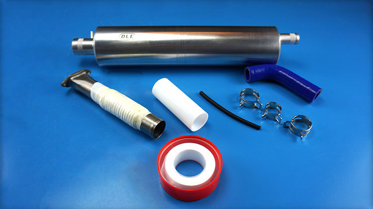 DLE55 RA Muffler Canister Set