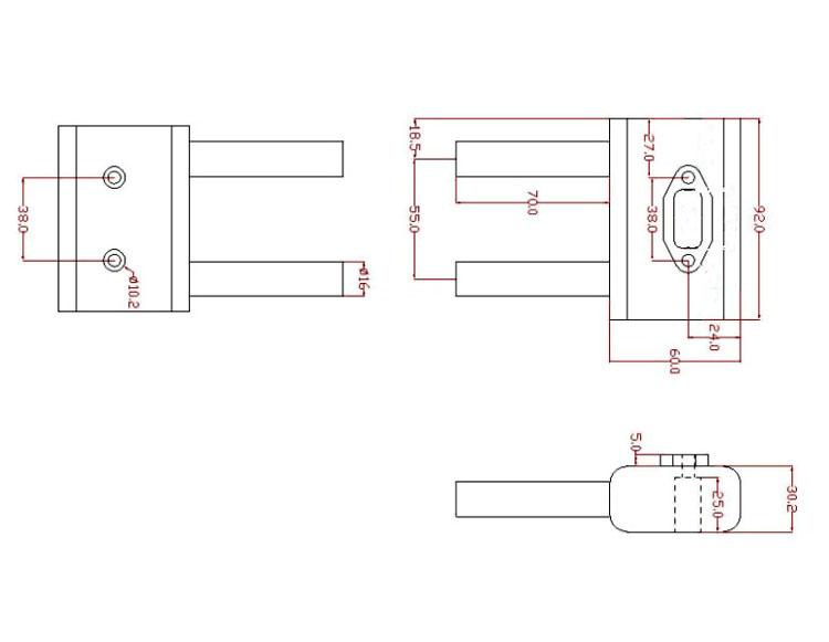 35RA_Smoke_Muf 1 smoke muffler for dle 35ra sm dle35ra for rc models sale