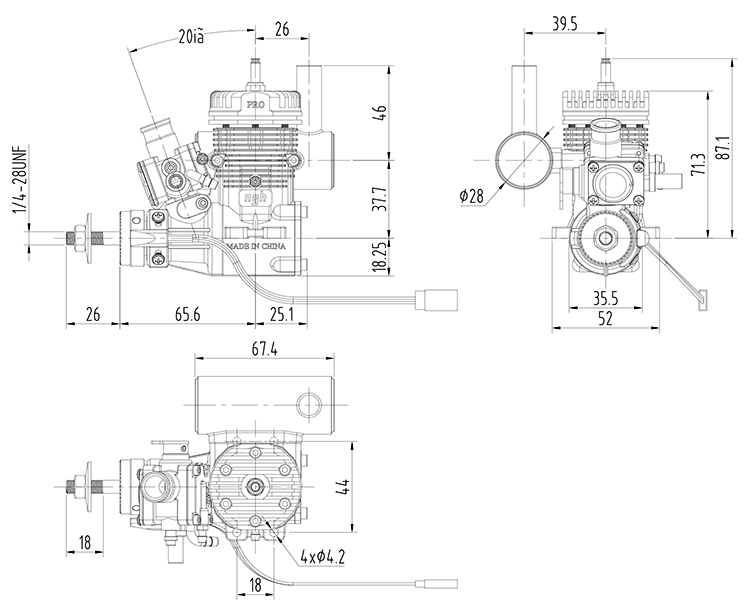 Gasoline Engines Ngh Gt9 Pr For