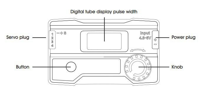 G.T POWER LED digital tube servo tester